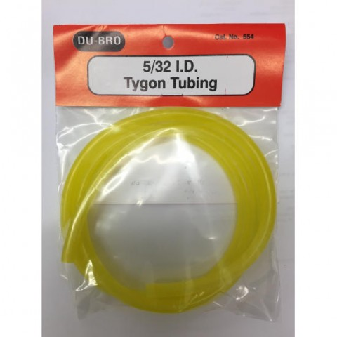 DB554 5/32 Tygon Fuel Tubing 3Ft (91.4cm) Large Bore