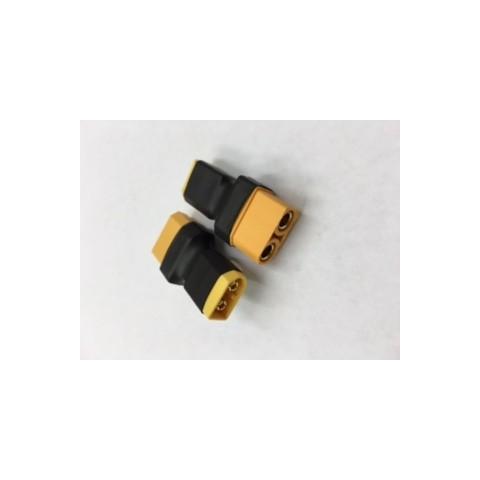XT60 Male - XT90 Female Compact Adapter