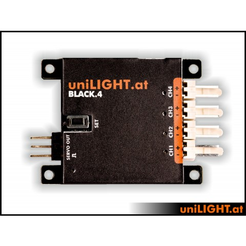 UniLight Controller Black 4 Latest Generation MODUL B4