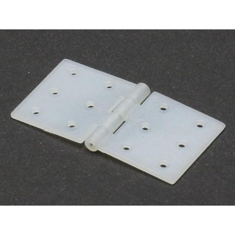 Nylon Hinge With Steel Pin 20x36mm / 10pcs X0861