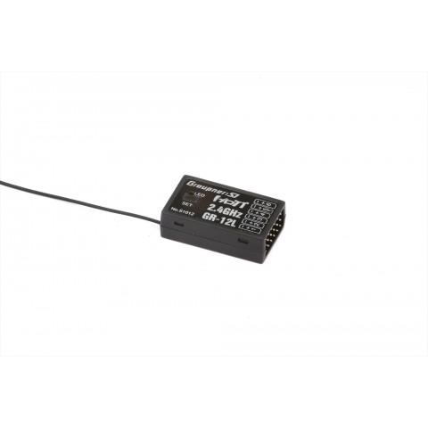 Graupner GR-12L HOTT 6 Channel Receiver S1012