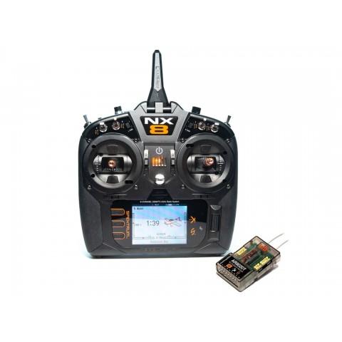 Spektrum NX8 8 Channel DSMX Transmitter With AR8020T Receiver SPM8200EU - Pre-Order