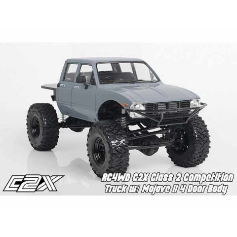 RC4WD C2X Class 2 Competition Truck w/ Mojave II 4 Door Body Z-RTR0042