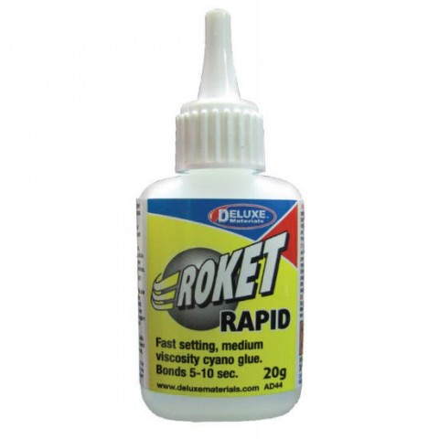 Roket Rapid Medium Cyano 20g AD44 from Deluxe Materials