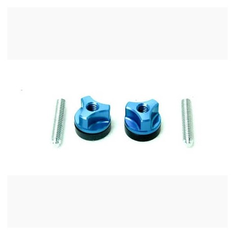 Secraft Wing Bolts 1/4-20 (Aluminium Screw) (Blue) SEC104