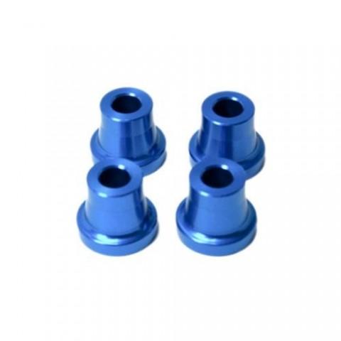 "Secraft Stand Off - 15mm (6mm, 1/4"" Hole) (Blue) SEC093"