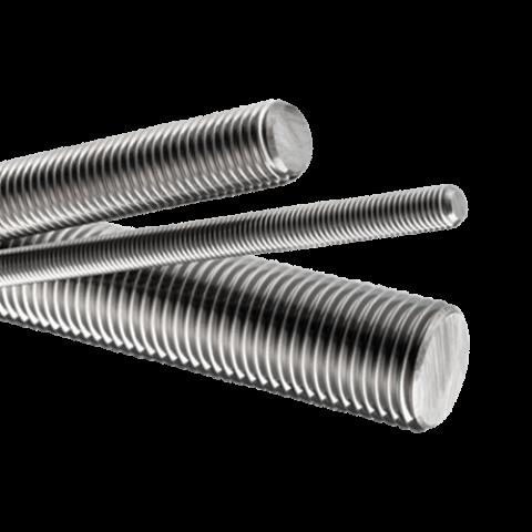 "M2 Stainless Steel Threaded Rod Studding M2 x 1000mm (39"")"