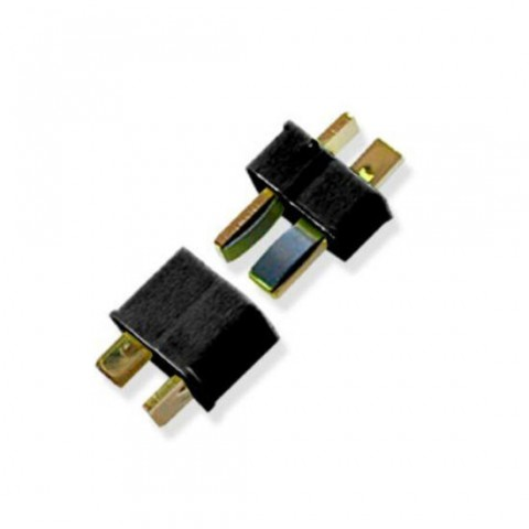 TrickBits Deans Style Ultra Plug (1 Pair) - Black TB2011BK