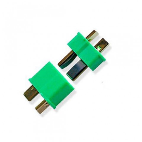 TrickBits Deans Style Ultra Plug (1 Pair) - Green TB2011G