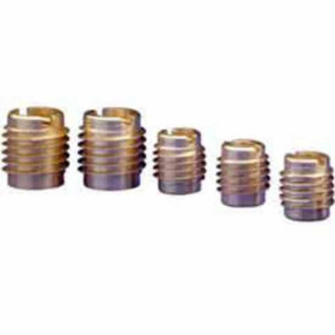 M4 Threaded Brass Self Tapping Insert