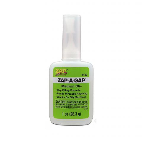 ZAP PT02 Zap-A-Gap Medium CA+ 1oz (medium)
