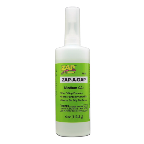 Zap PT01 Zap-A-Gap Medium CA+ 2oz (medium)