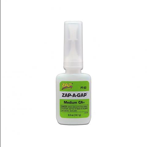 ZAP PT03 Zap-A-Gap Medium CA+ 1/2oz (medium)